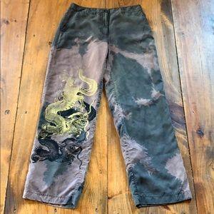 Silk Dragon Pants